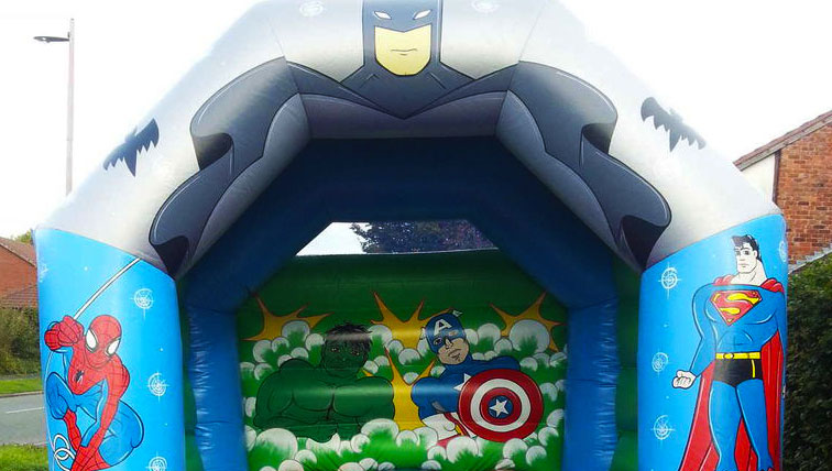 Bounce about inflatable castle for hire